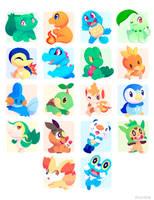 Poke Stickers 01 by ChocoChaoFun