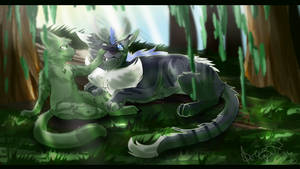 Deep in the forest by Dawnheart101