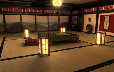 The Room - at night by ShinRyaku