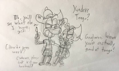 Yandere Tango by Nothing-But-Luds