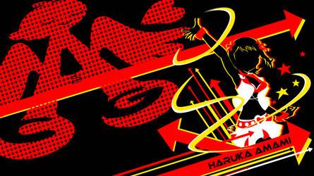 Vivid Shadow Wallpaper - Haruka by Unit-076