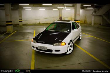 Honda Civic Coupe  JDM by Mr-Ramon