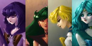 Sailor Moon Series by gabrielleandhita