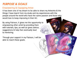 Patreon Purpose Goals by gabrielleandhita