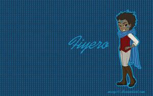 Wallpaper: Fiyero Blue by mary90