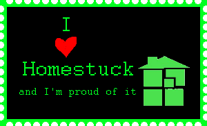 I love Homestuck stamp by PrincessCillerenda