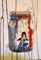 Faery in Jar by Red-Rivet