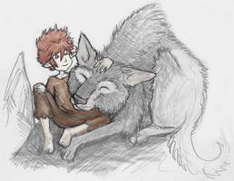 Raised by Wolves by shadenokturne