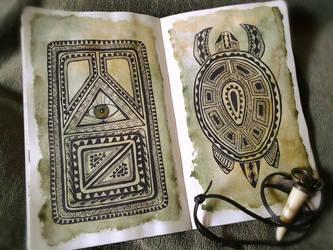 My sketchbook #12 by rusinovamila