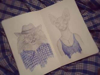 My sketchbook #14 by rusinovamila