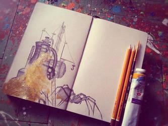 My sketchbook #15 by rusinovamila