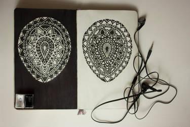 My sketchbook #18 by rusinovamila