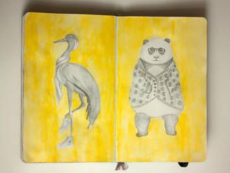 My sketchbook #19 by rusinovamila