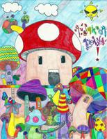 Mushrooms by Jenn-Itailia