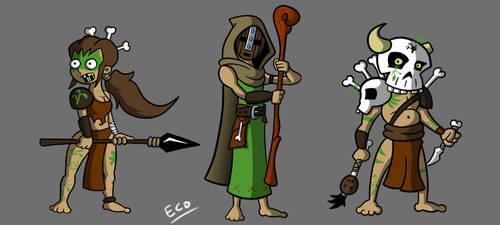 Some Druids by Atom95