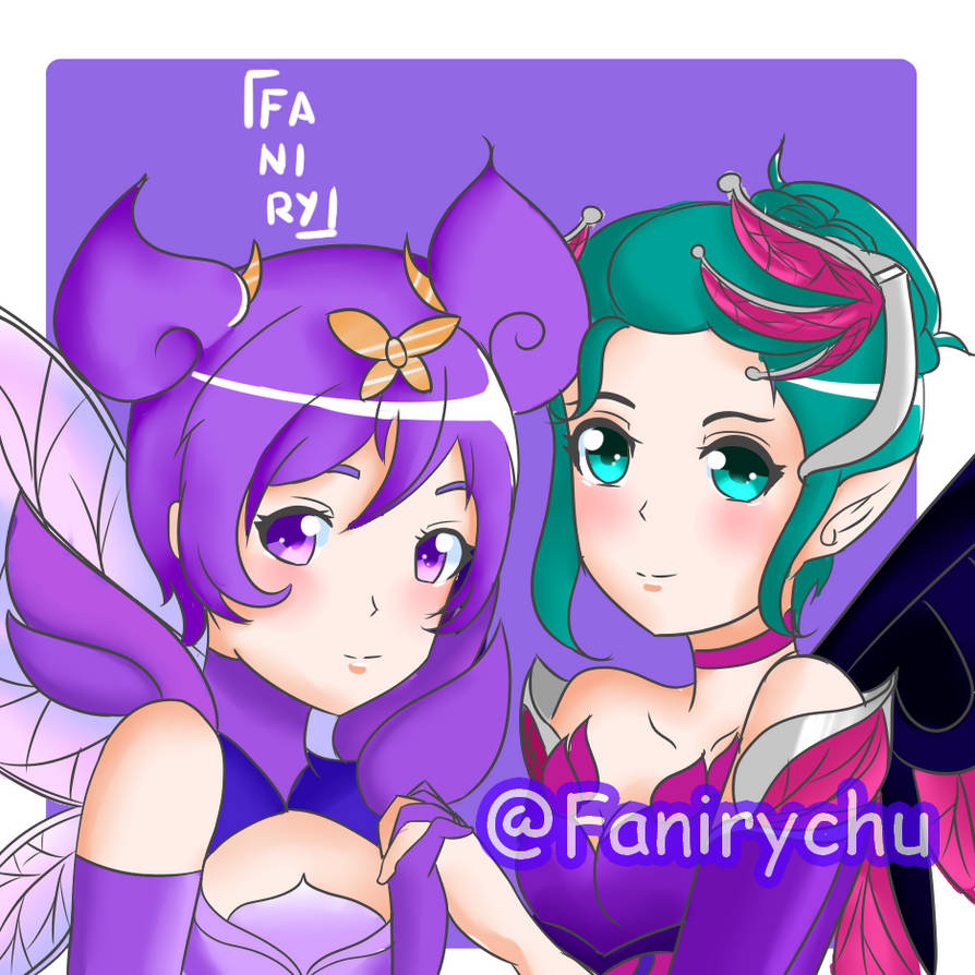 Lux and Mercy Pix by Fani1601