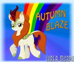 Autumn Blaze by Cyber-murph