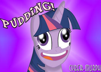 Pudding! by Cyber-murph