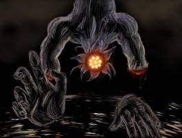 Shadow Beast-Bongo Bongo by linkhero55