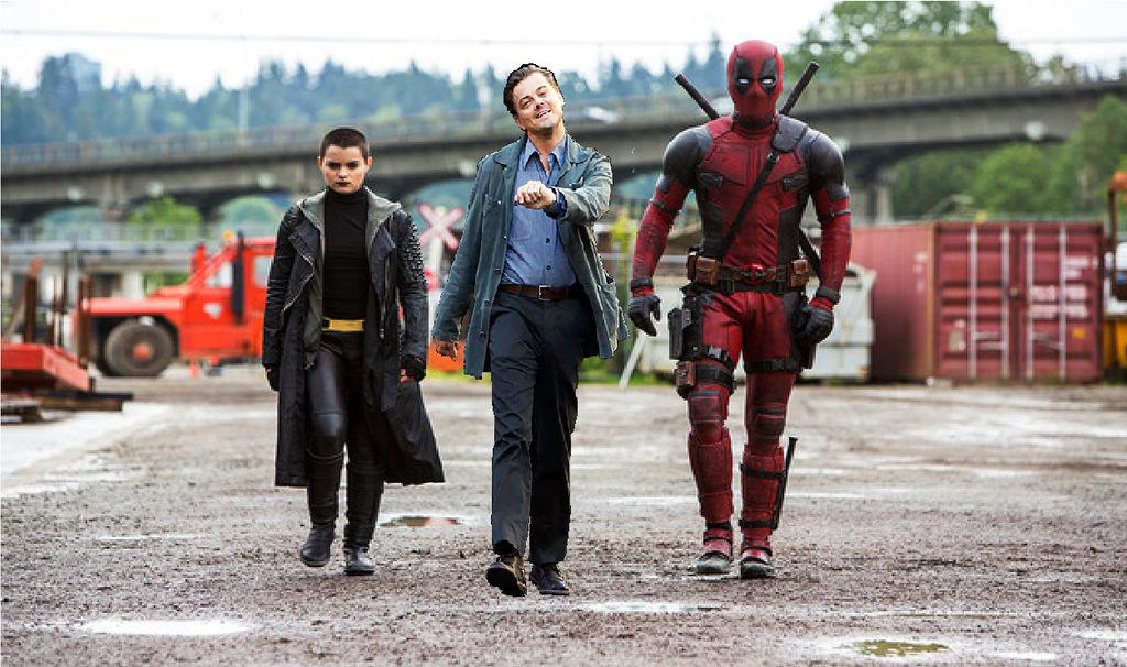 Leonardo Dicaprio Strutting Meme Deadpool Movie By Brandonale On