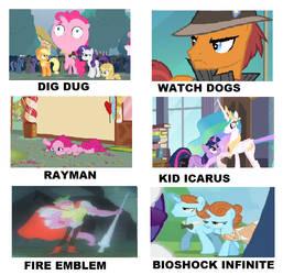 My Little Pony Videogames Meme 7. by brandonale