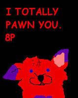 Chibi Wolfy Warp by JayJayWolf