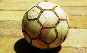 old soccer ball by dleafy