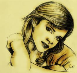Emma Watson by JuliaFox90