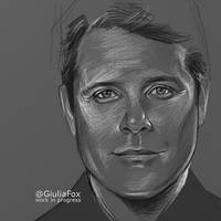 Sean Astin - wip - by JuliaFox90