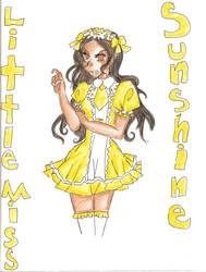 Little Miss Sunshine by THEvirtualreeper