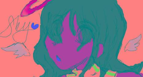 shy id by THEvirtualreeper
