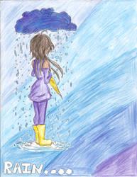Rain... by THEvirtualreeper