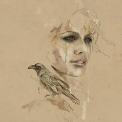 [ Crow ] by mario-alba
