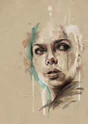 [ Scarlett Johansson ] by mario-alba