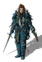 Liryanna, Raven Enclave Executioner - Color by Araknophobia