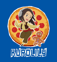 T-Shirt Design: Kurolily and Zenzy! by Araknophobia