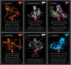 Gold to Glory Feature Cards, part 1 by Araknophobia