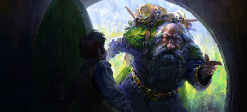 hobbit by Andrei-Pervukhin