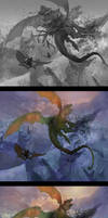Making of 'Tragedy in the sky' by Andrei-Pervukhin