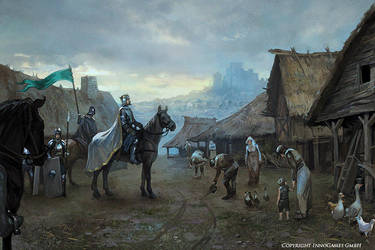 'The enemy village is ours' by Andrei-Pervukhin