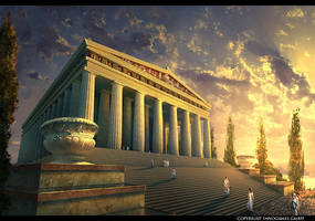 The Temple of Artemis by Andrei-Pervukhin