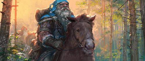 'Hobbit' illustration 04 by Andrei-Pervukhin