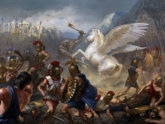 Huge battle by Andrei-Pervukhin