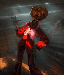 Jack Pumpkinhead by Andrei-Pervukhin