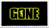 Gone Stamp by WeNevermore