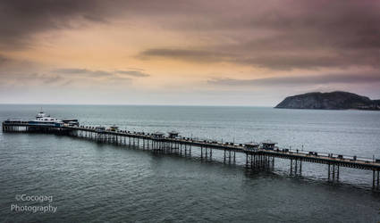 Llandudno Pier 2 UK by friartuck40