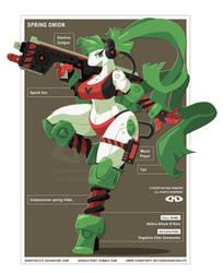 Spring Onion - Vegetron Elite Commando by DoNotDelete