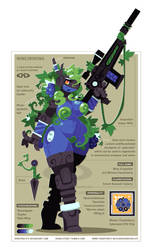 Wine Grapeshot - Cyberry Sniper by DoNotDelete