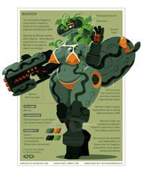 Marrow - Cyberry Vegetron Clone Hybrid by DoNotDelete