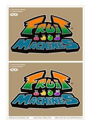 FRUIT MACHINES - Logo - WIP by DoNotDelete